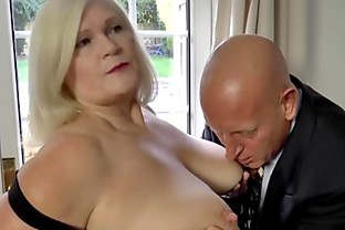 LACEYSTARR - Naughtiest grandma analled before cumshot