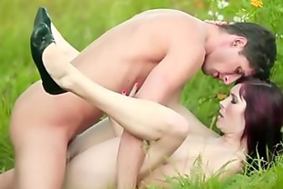 redhead gets cocked in the grass FL